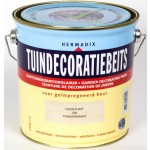 Tuindecoratiebeits Dover-Wit Transparant 2,5 Ltr.