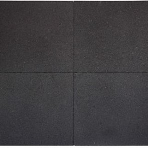 Tugela Grand Pure 25 Dark Black 60x60x4 cm. P/m2.