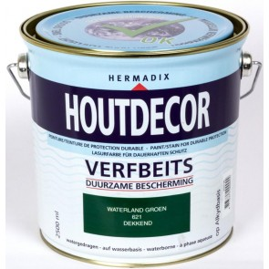 Houtdecor Waterland-Groen Dekkend 2.5 Ltr.