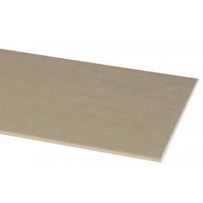 Stucplaat 40x200 cm.  9.5mm.