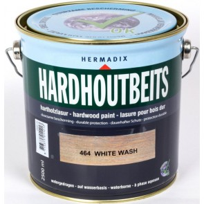 Hardhoutbeits White-Wash 0.75 Ltr.