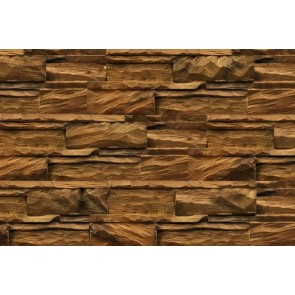 Prestige Deco Wall Diamondwood Teak Natural per 1m2 - Wandbekleding.